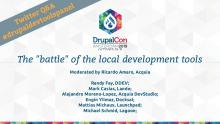 "A panel called the ""battle"" of the local Drupal development tools"